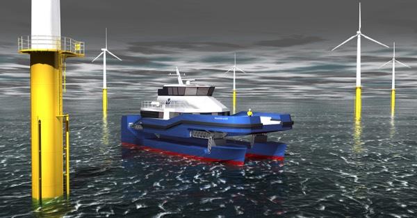 Nauti-Craft wind farm vessel l