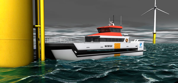 Nauti-Craft's Revolutionary Windfarm Vessel Design